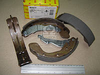 Колодки тормозные барабанные CHEVROLET AVEO 06- задние (Bosch). 0 986 487 714