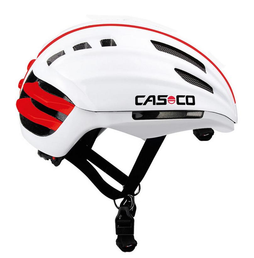 Велошлем с визором Casco SPEEDairo white, 54-58 (MD)