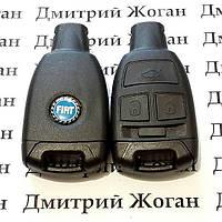Корпус смарт ключа для Fiat Croma (Фиат Крома) 3 - кнопки