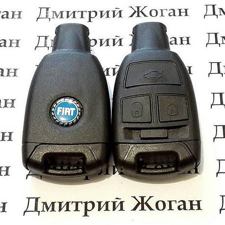 Корпус смарт ключа для Fiat Croma (Фиат Крома) 3 - кнопки, фото 2