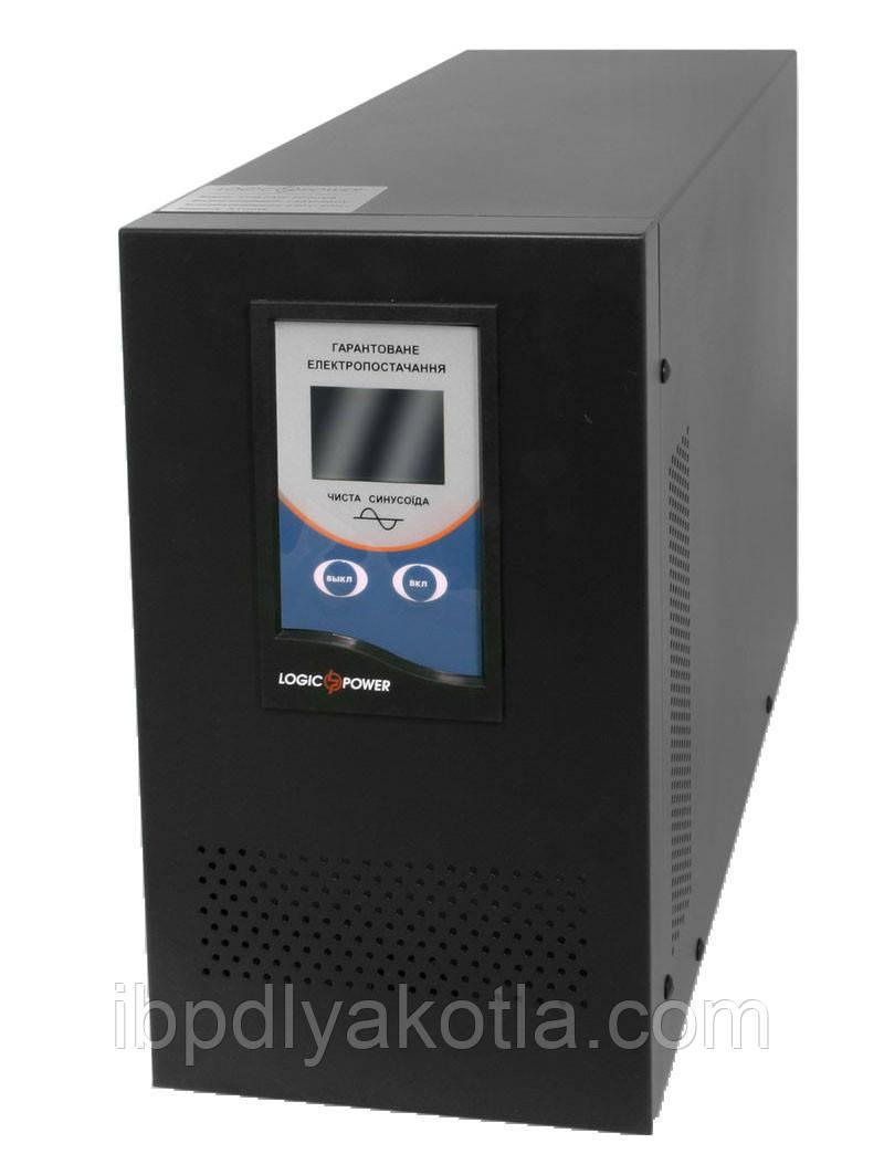ИБП Logicpower LPM-PSW-2000 (1400Вт) 24V, для котла, чистая синусоида, внешняя АКБ