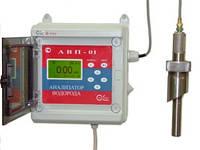 Анализатор водорода АВП-01А