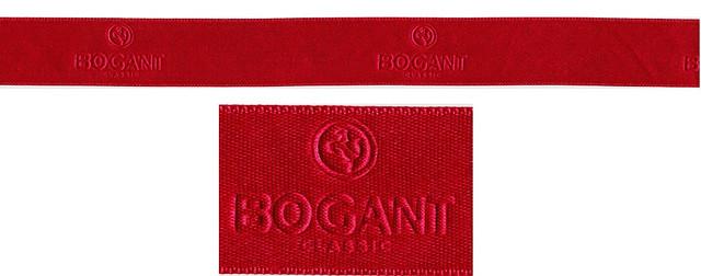Лента с тиснением логотипа