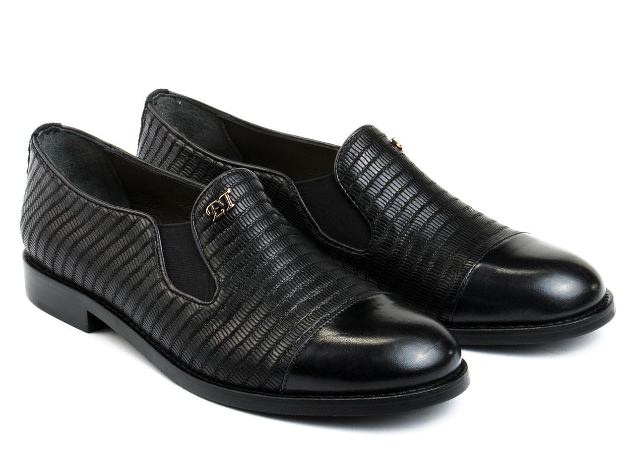 Туфлі Etor 4920-525 36 чорні