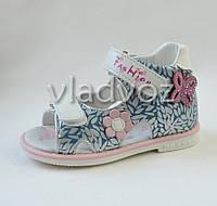 Детские босоножки сандалии для девочки бабочка Tom.m 25р.