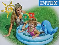 Детский бассейн, Intex 57400, надувной бассейн с игрушками, Дельфинчик 57400, надувные игрушки, бассейны