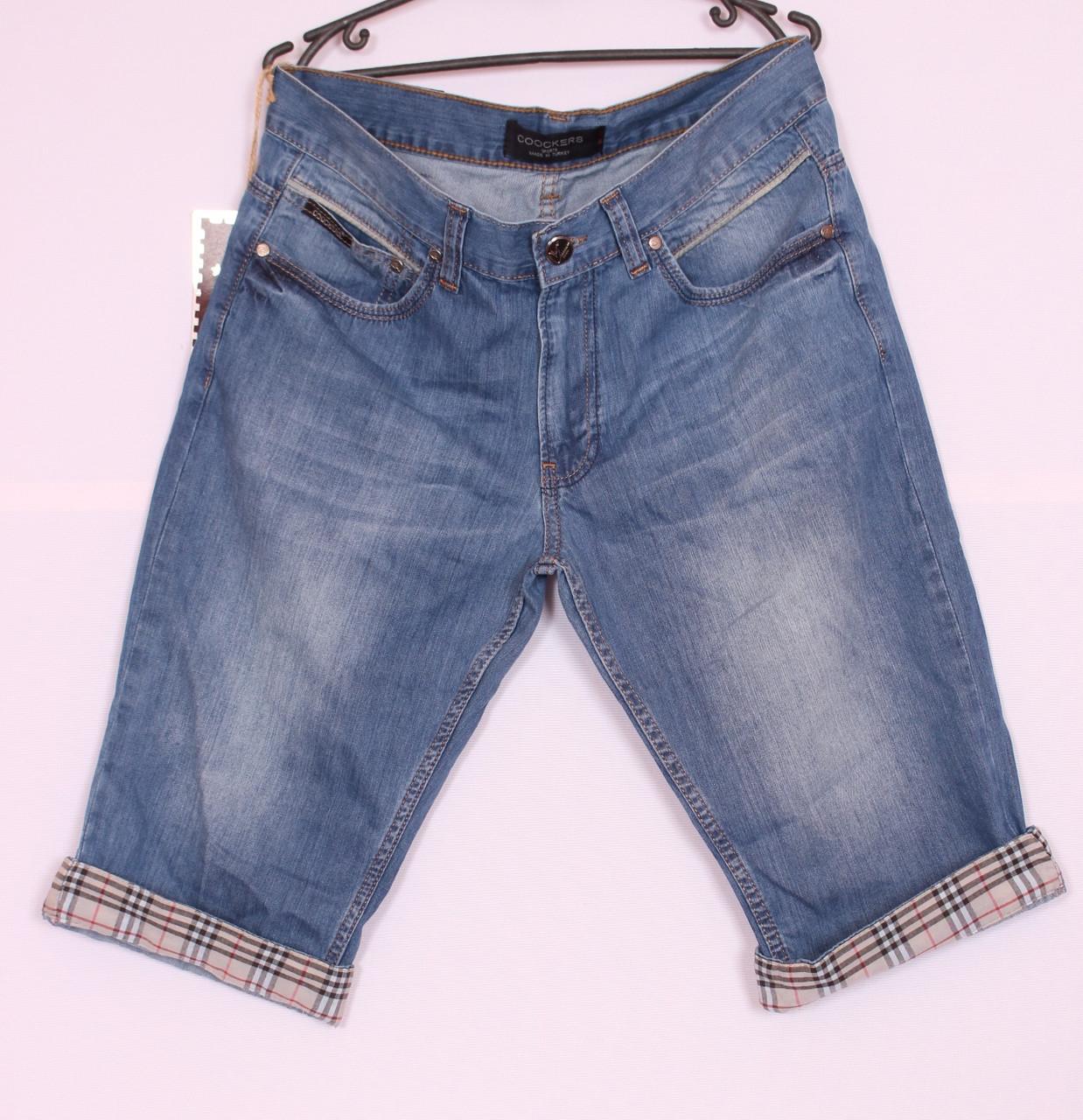 Мужские джинсовые шорты Coockers (код 1153)