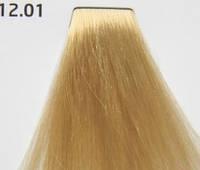 Стойкая краска для волос № 12.01 - Ультрасветлый пепельный блондин Nouvelle Smart 60 мл