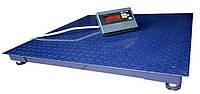 Платформенные весы ЗЕВС-Стандарт ВПЕ-1000-4(Н1010), до 1000 кг, размер площадки 1000х1000 мм