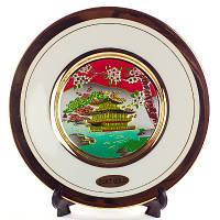 Сувенирная тарелка «Золотой храм»