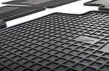 Резиновые передние коврики в салон Kia Sportage III (SL) 2010-2016 (STINGRAY) , фото 6