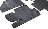 Резиновые передние коврики в салон Kia Sportage III (SL) 2010-2016 (STINGRAY) , фото 3