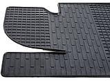 Резиновые передние коврики в салон Kia Sportage III (SL) 2010-2016 (STINGRAY) , фото 4