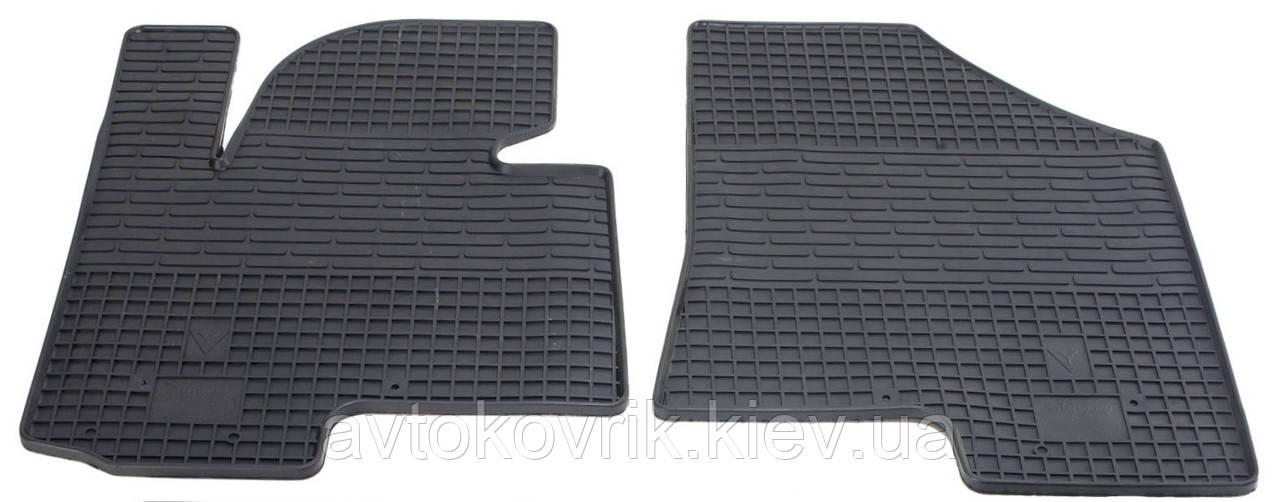 Резиновые передние коврики в салон Kia Sportage III (SL) 2010-2016 (STINGRAY)