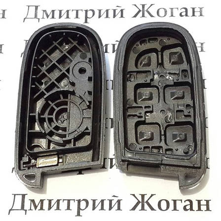 Корпус смарт ключа для Chrysler (Крайслер) 3 +1 кнопка, фото 2