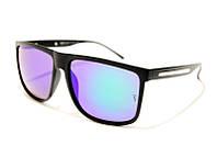 Очки Рей Бен Wayfarer Polarized 2014 C6 SM 02325, очки вайфарерры с поляризацией фиолетовые