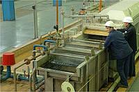 Агрегат горячего цинкования проволоки ЛЦП-8