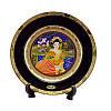 Японская сувенирная тарелка «Майко на берегу реки»