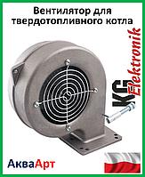 Турбина (вентилятор) для твердотопливного котла