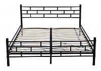 Металическая кровать двухмесная
