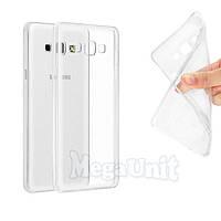 Прозрачный силиконовый чехол для Samsung Galaxy A8 (a800)