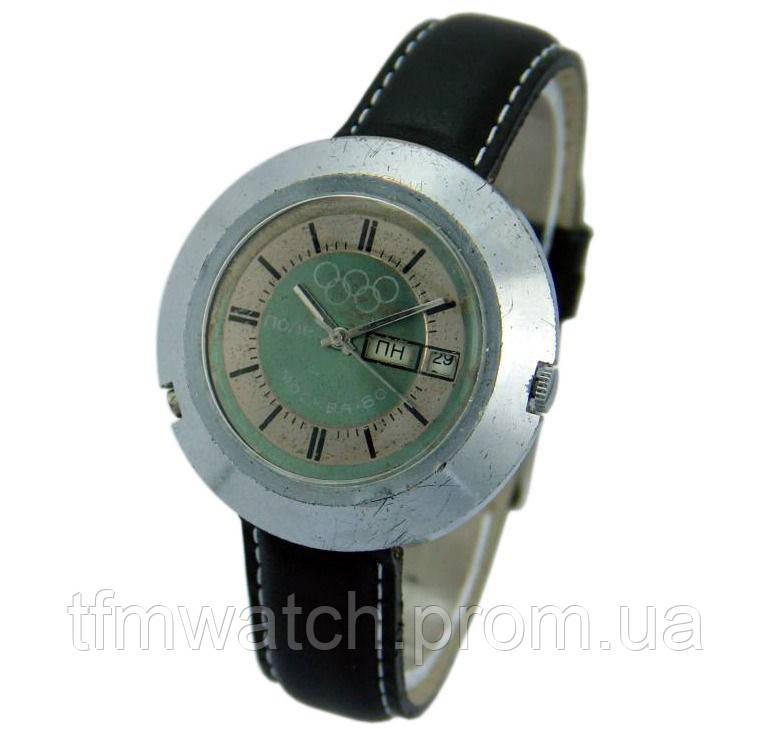 Полет  Олимпиада 80 механические часы СССР
