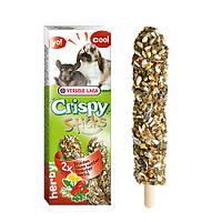 Versele-Laga Crispy Sticks ТРАВЫ зерновая смесь лакомство для шиншилл и кроликов