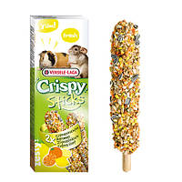 Versele-Laga Crispy Sticks ЦИТРУСЫ ФРУКТЫ зерновая смесь лакомство для шиншилл, морских свинок