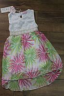 Платье для девочек 3- 8 лет