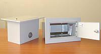 PWw-10/20S - встраиваемая распределительная коробка на 10...40 пар, стальная, с замком, IP30 (Польша)
