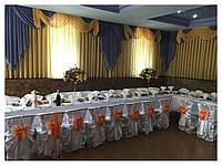Свадебные чехлы на стулья
