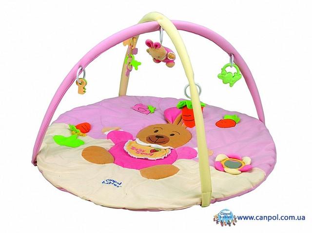Развивающий коврик Кролик Canpol Babies 2/263
