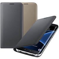 Чехол Samsung Flip Wallet Orig для Samsung Galaxy S7 Edge G935 Black