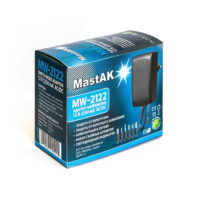 Универсальный импульсный блок питания постоянного тока Mastak MW-2122