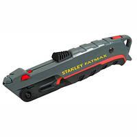Нож Stanley 19мм трапеция 140мм Fatmax, автовозврат лезвия, встроенный резак для ленты 0-10-242