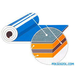 Фольгоизол (фольгопергамин) гидроизоляционный, фото 2