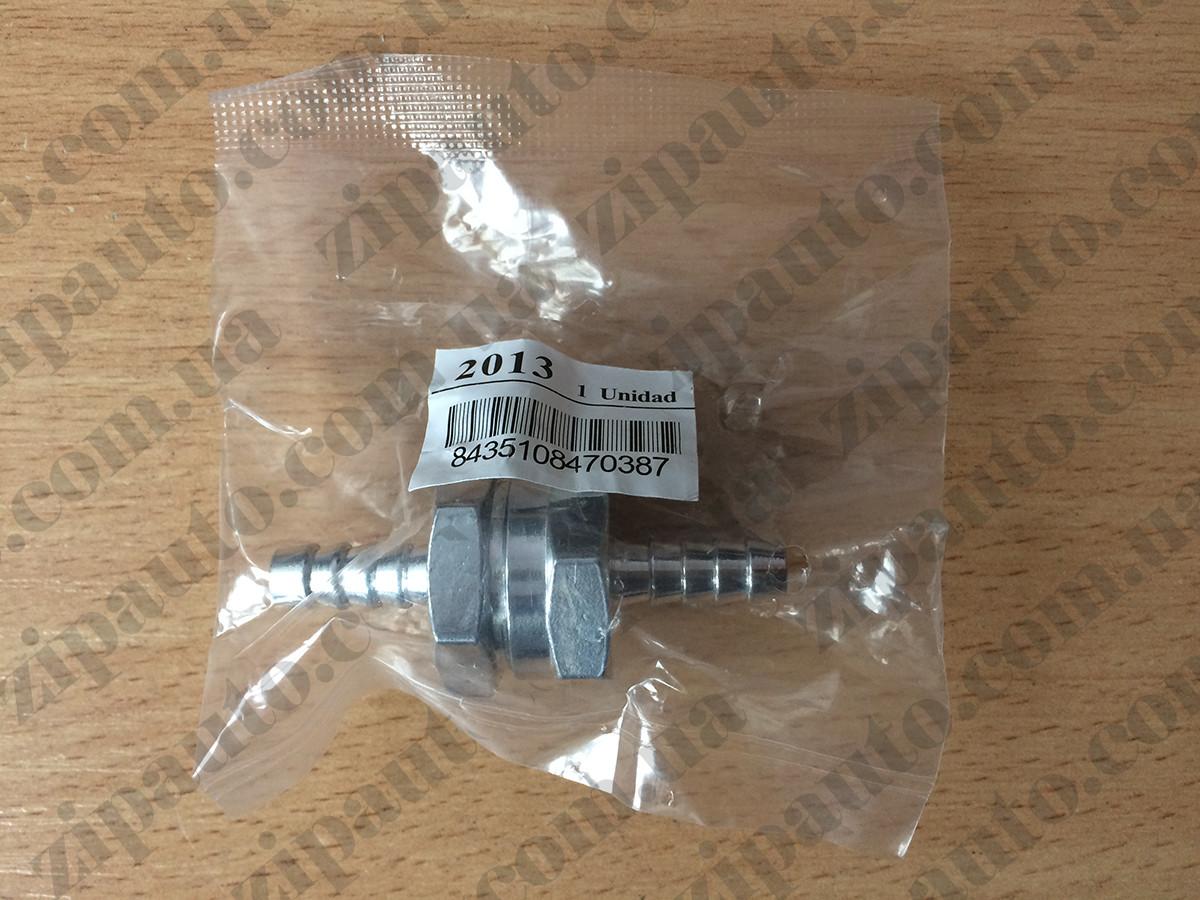Обратный клапан Metalcaucho штуцер 6 мм