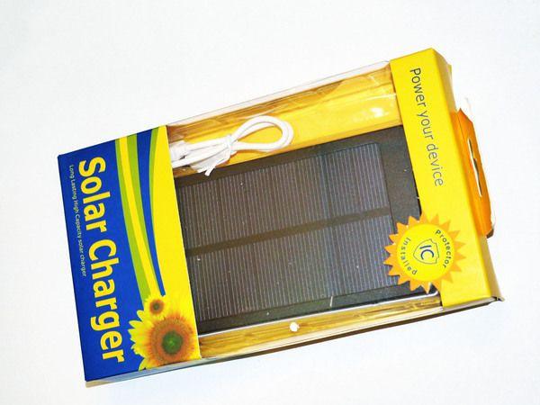 Солнечное зарядное устройство Power Bank Solar 25000 mAh, Павер Банк Солар 25000 мАч