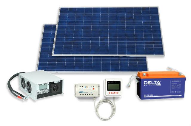 Солнечные электростанции и комплектующие