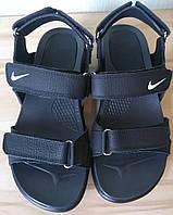Найк мужские или подростковые кожаные сандали  обувь Nike сандалии босоножки