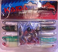 Силиконовые приманки Kaida Power Kit. AG005