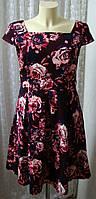 Платье модное красивое хлопок Mint&Berry р.46 6616