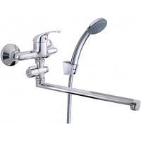 RUBINETA OPTIMA 12C(O2CK08) Смеситель для ванны длинный (ЛИТВА)
