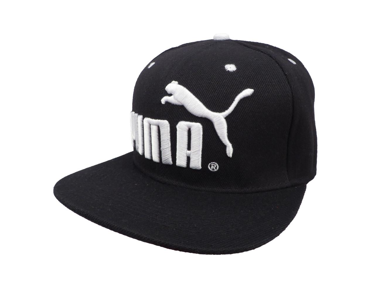 Черная кепка Puma (реплика)