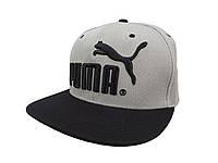 Серая кепка Puma