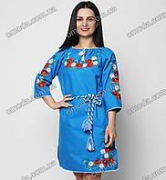 Украинское вышитое платье