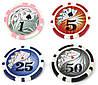 Набор для покера на 200 фишек с номиналом WS11200N, фото 8