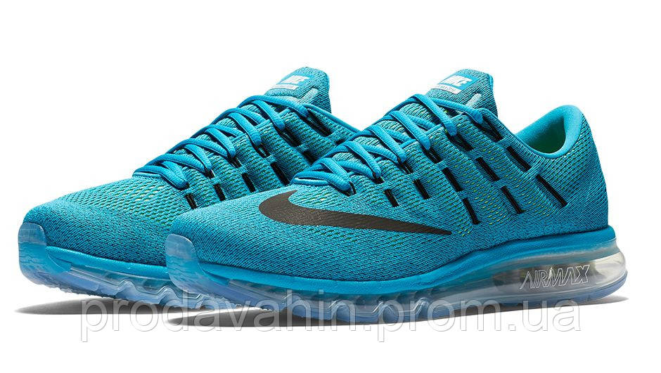 137f6fed ▻ Купить Кроссовки мужские Nike Air Max 2016 Blue Original ...