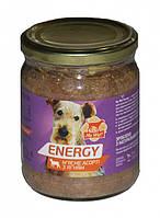 Консервы My Wuf! Energy Мясное ассорти с мясом яненка для собак, 500 г