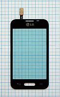 Тачскрин сенсорное стекло для LG D160 Optimus L40 black